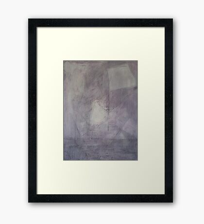 Hush Framed Print