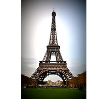 Eiffel Tower Paris Photographic Print