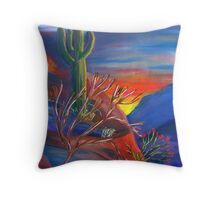 Mystical... Moody... Monsoon... Monday. Throw Pillow