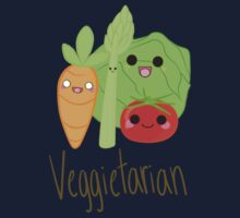 Veggitarian Tshirt Kids Clothes