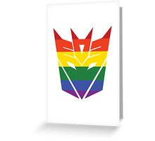 Decepticon Pride [Homosexuality] Greeting Card