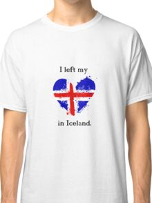 I left my heart in Iceland, Tshirt Classic T-Shirt