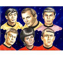To boldly go......Star Trek.....the originals Photographic Print