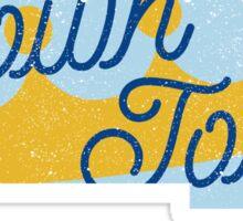 Crown Town Sticker