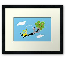 Bark up My Tree Framed Print
