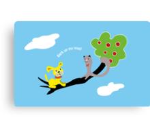 Bark up My Tree Canvas Print