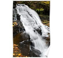 Vertical Waterfalls Landscape Poster
