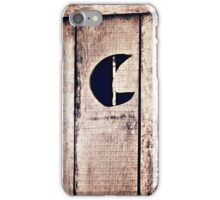 When you gotta go - you gotta go - Outhouse iPhone and iPod case iPhone Case/Skin
