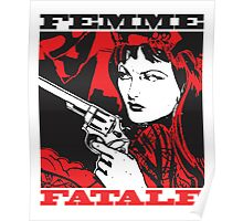 Femme Fatale (Girl with a Gun) Poster