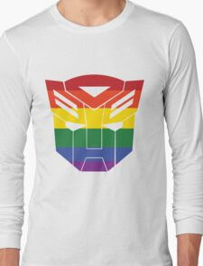 Autobot Pride [Homosexuality] Long Sleeve T-Shirt