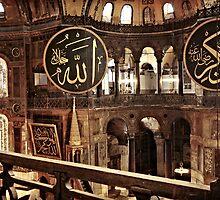 Hagia Sophia Gallery 2 by Raftman