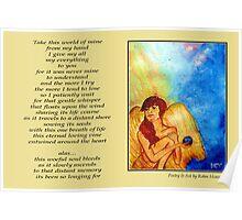 Poetry in Art - Fallen Angel  Poster