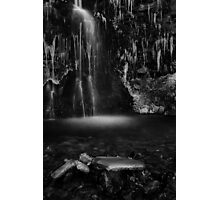 Frozen Fall, Buckden, Yorkshire Dales Photographic Print