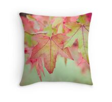 Autumn Leaves II Throw Pillow