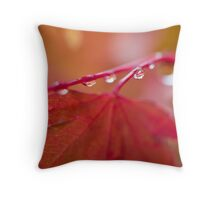 Autumn Leave III Throw Pillow