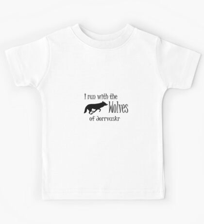 Running with the Wolves Kids Tee