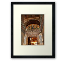 Hagia Sophia Entrance Framed Print