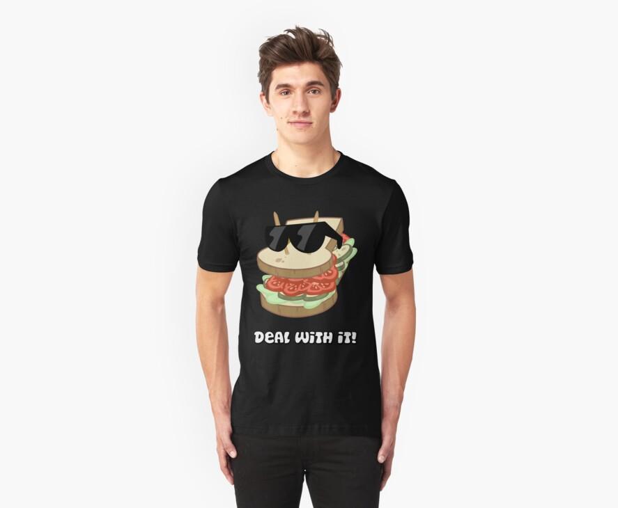 Deal with it Sandwich by Knusperklotz