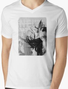 New York city scape and woman model T-Shirt