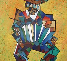The Accordionist by taiche