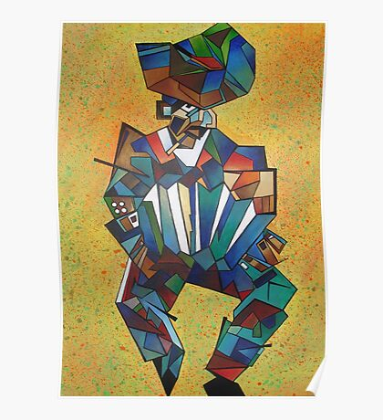 The Accordionist Poster