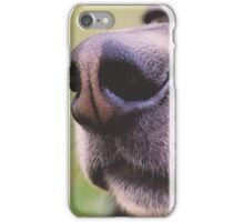 THE NOSE KNOWS iPhone Case/Skin