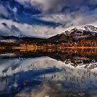 Ben Venue from Loch Achray,The Trossachs, Scotland by Jim Round