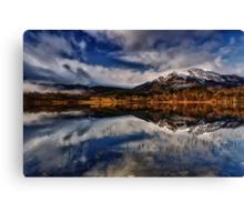 Ben Venue from Loch Achray,The Trossachs, Scotland Canvas Print