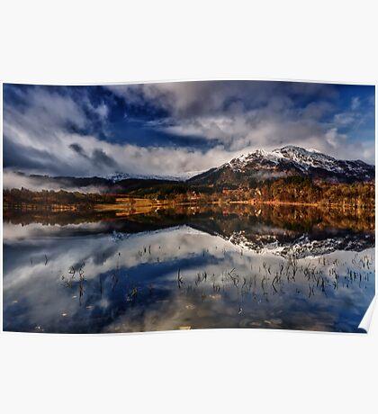 Ben Venue from Loch Achray,The Trossachs, Scotland Poster