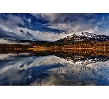 Ben Venue from Loch Achray,The Trossachs, Scotland Photographic Print