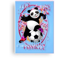 It's The Passion! blue poster Canvas Print