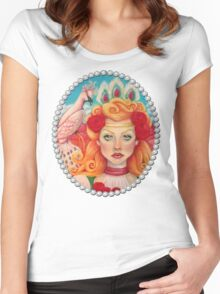 The Phoenix Keeper tee Women's Fitted Scoop T-Shirt