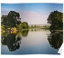 River Wharfe, Bolton Abbey, Yorkshire Dales Poster