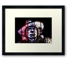 Baker-scarfed Framed Print