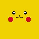 Pikachu - Face only by schembri211