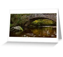 Hubberholme Bridge, Yorkshire Dales Greeting Card