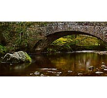 Hubberholme Bridge, Yorkshire Dales Photographic Print