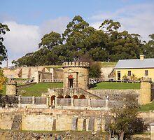 Beautiful Tasmania - Port Arthur, the guardhouse by georgieboy98