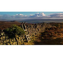 Barden Moor, Yorkshire Dales Photographic Print