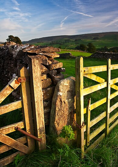 Above Grassington, Yorkshire Dales by Jim Round
