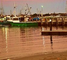 Ulladulla Harbour by waxyfrog