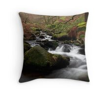 Waterfall Gill, Yorkshire Dales Throw Pillow