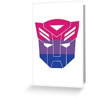 Autobot Pride [Bisexual] Greeting Card