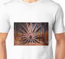 Time Worn Wheel Unisex T-Shirt