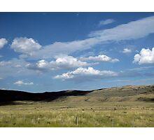 Wyoming Sky Photographic Print