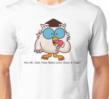 How Many Licks Does It Take? Unisex T-Shirt