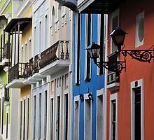 Street in Old San Juan by avresa