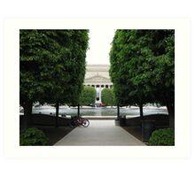 National Archives, Washington DC Art Print