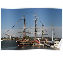 HMS Bounty - St Augustine Poster