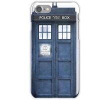 Tardis Blue - The Police Box iPhone Case/Skin